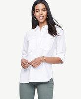 Ann Taylor Home Tops + Blouses Safari Button Down Shirt Safari Button Down Shirt
