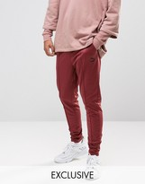 Puma Skinny Track Joggers In Red Exclusive to ASOS