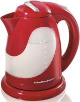 Hamilton Beach 1.7-Liter Red Electric Kettle
