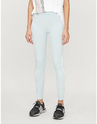 adidas by Stella McCartney Run animal-print stretch-knit leggings