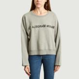 Maison Margiela Grey Logo Sweatshirt - xs | cotton | grey - Grey/Grey