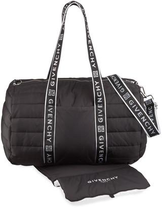 Givenchy Logo Nylon Changing Bag and Mat