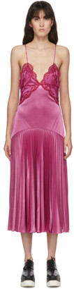 Christopher Kane Purple Lace Slinky Dress