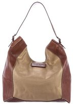 Kate Spade Leather & Canvas Hobo