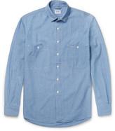 Aspesi Cotton-chambray Shirt - Blue