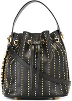 Moschino bucket tote - women - Leather/metal - One Size