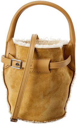 Celine Nano Big Bag Suede Bucket Bag
