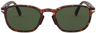 Persol Rectangular Frame Sunglasses