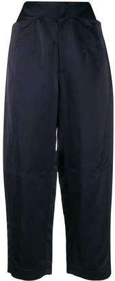 Gentry Portofino satin cropped trousers