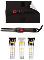 EZ Automatic Curler with Nurturing Argan Oil Haircare Bundle