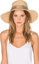 Hat Attack Raffia Braid Lampshade Hat