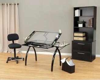 Studio Designs Futura Height Adjustable Drafting Table Color: Black
