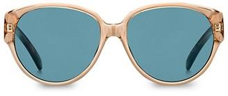 Givenchy 57MM Aviator Sunglasses