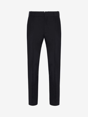Alexander McQueen Fitted Tailored Pants