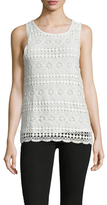 Threads 4 Thought Delaney Embroidered Lace Top
