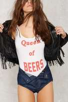 The Laundry Room Queen of Beers Bodysuit