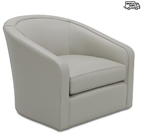 Bloomingdale's Artisan Collection Emma Swivel Chair