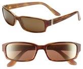 Maui Jim Women's Atoll 56Mm Polarizedplus2 Sunglasses - Gloss Black