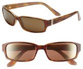 Maui Jim Women's 'Atoll' 56Mm Sunglasses - Gloss Black