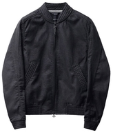 Wings + Horns Vented Linen Bomber