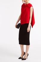 Roland Mouret Arreton Crepe Skirt