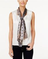 Vince Camuto Heirloom Paisley Silk Oblong Scarf