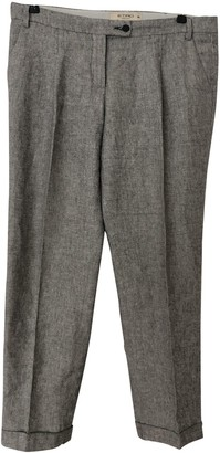 Etro Grey Cloth Trousers for Women