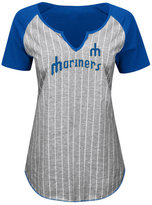 Profile Women's Seattle Mariners From The Stretch Plus Size T-Shirt