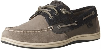Sperry Women's Songfish Suede Wool Boat Shoes