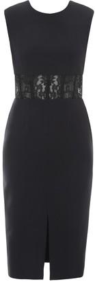 Alexander McQueen Lace-Panelled Dress