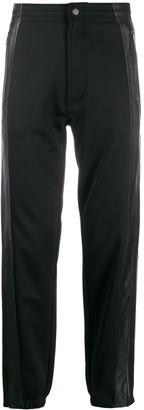 Givenchy logo knit band track pants