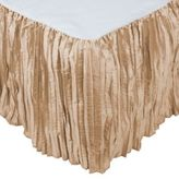 Austin Horn Collection Angelina Queen Bed Skirt in Champagne