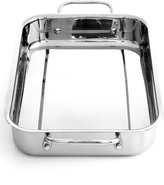 """Cuisinart Chef's Classic Stainless Steel 13.5"""" Lasagna Pan"""
