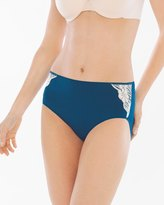 Soma Intimates Vanishing Tummy with Lace Modern Brief