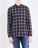 The Kooples Checked Fitted Cotton Shirt