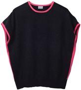 Cove Eva Charcoal & Pink Cashmere Jumper