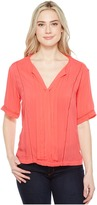 Calvin Klein Jeans Lace Inset Blouse Women's Blouse