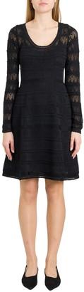 M Missoni Openwork Knit Dress