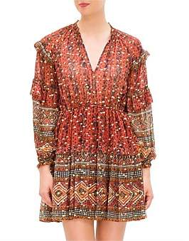 Ulla Johnson Erisa Dress Indian Floral