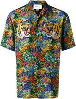 Gucci floral print bowling shirt - men - Silk - 46