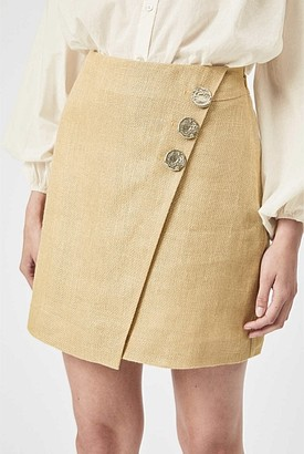Witchery Button Wrap Skirt