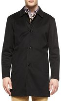 Peter Millar Modena Reversible Trenchcoat, Black