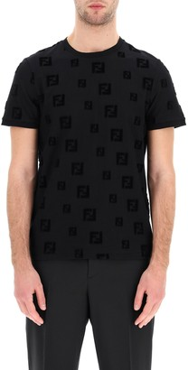 Fendi FF Motif Chenille T-Shirt