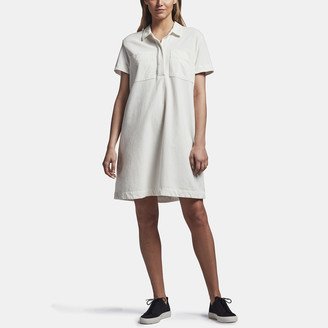 James Perse Fresca Knit Pocket Shirt Dress