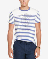 Polo Ralph Lauren Men's Striped Graphic-Print T-Shirt