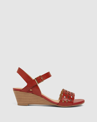 Easy Steps - Women's Red Sandals - Callum - Size One Size, 8 at The Iconic