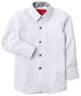 elie balleh (Boys 4-7) Checkers Dress Shirt