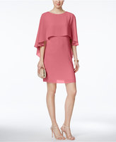 Vince Camuto Capelet Shift Dress