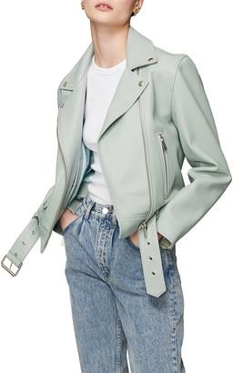 Anine Bing Benjamin Leather Moto Jacket