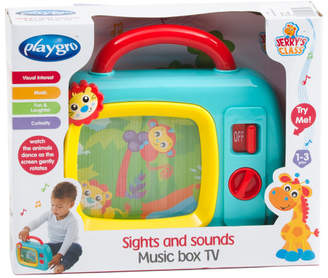 Sights And Sounds Music Box Tv